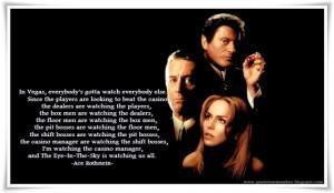 Casino Movie Quotes Quote to remember: casino