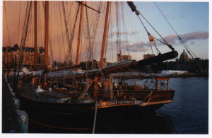 Pacific Grace and Victoria Harbour, British Columbia