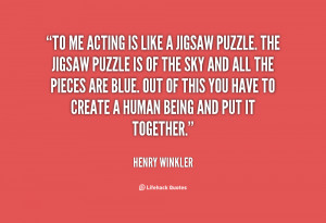 Jigsaw Puzzle Quotes