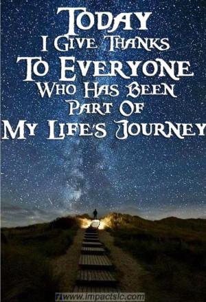 Life's journey quote