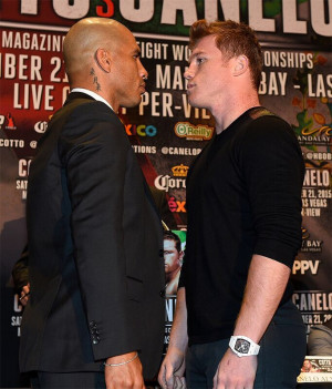 ... AND CANELO ALVAREZ NEW YORK CITY PRESS CONFERENCE PHOTOS & QUOTES
