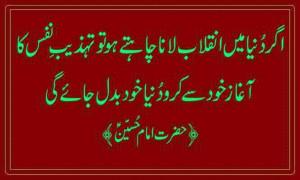 Imam Hussain Quotes in Urdu, Hazrat Imam Hussain Quotes, Hazrat Imam ...
