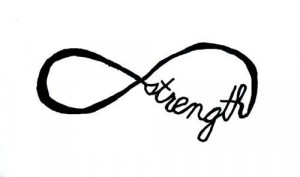 infinity symbol pretty strength