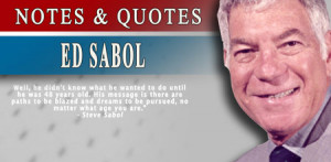 Ed Sabol is the 19th contributor to be elected to the Pro Football ...