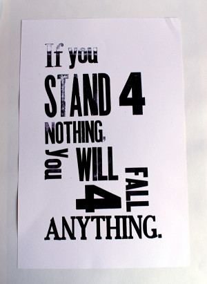 Typography Letterpress Posters: Famous Quotes