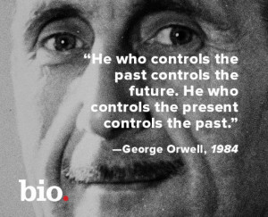 this week in 1949. About a year before his death at 46, George Orwell ...