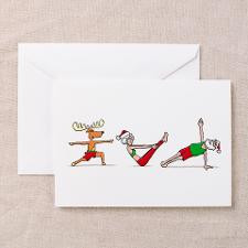 Fitness Christmas Card Greeting Cards for
