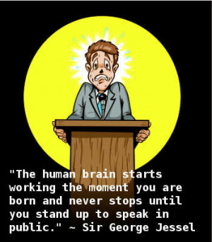 Do you get nervous when it is your turn to stand up in front of your ...