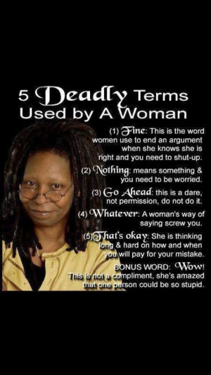 Whoopi Goldberg!!
