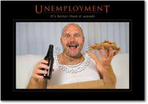 Unemployment Unique Funny All Occasions Card Nobleworks