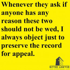 Best quote of the day. #Lawyers