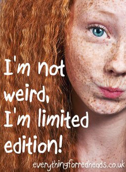 ... limited edition! #redheads #ginger #redheadzen #Redhead #Quotes