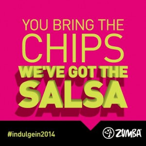 Let's salsa with Zumba!