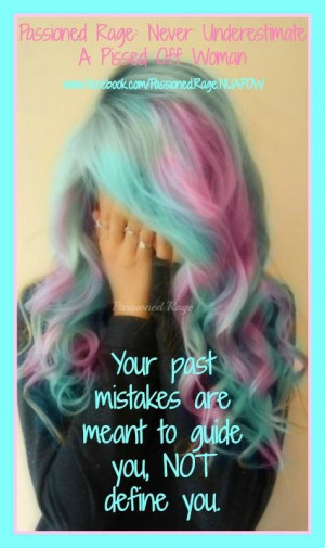 Mermaid hair with good quote