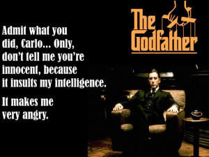 It Insults my intelligence...