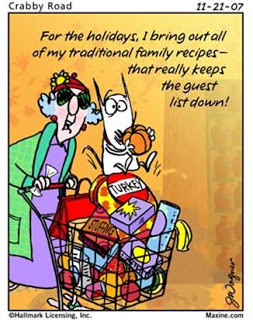 Thanksgiving Humor from the Luvable Maxine