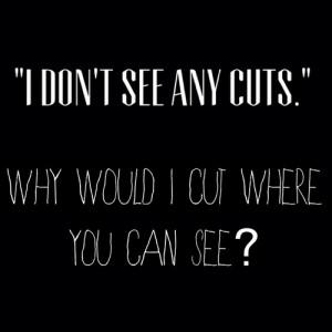 quote depressed depression sad b&w self harm cutting hope depressing