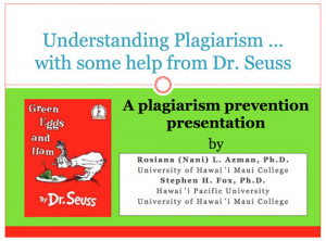 The problem of pupils plagiarizing papers plagues professors ...