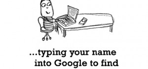 Happiness is, typing your name into Google to find funny search ...