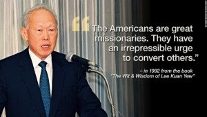 Top 5 of Lee Kuan Yew Quotes | Simple & Frugal