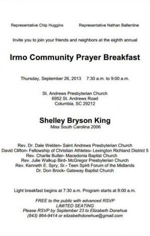 Search Results for: Black Church Prayer Breakfast Program