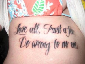 Famous Quote Tattoo 4 Quotes In Design Art Flash Pictures
