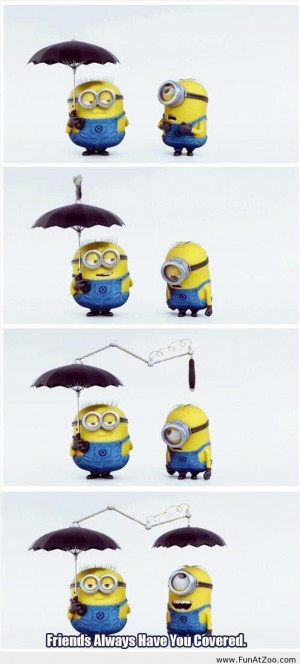 just love those cute minions