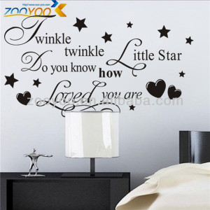 ... Quote Decals > ZY8064 Removable Vinyl Quote Wall Stickers Decal Art