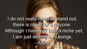Adele, quotes, sayings, love, songs, music, romantic