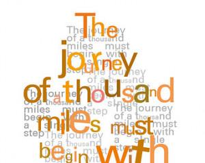 ... Typography print Teacher gift Spiritual quote Orange typographical art