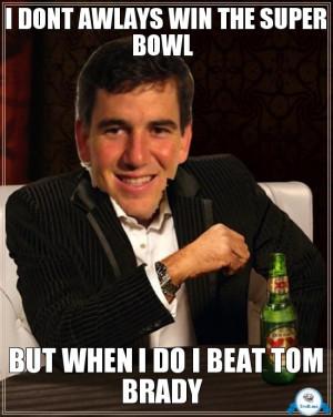 Eli Manning Tom Brady Meme