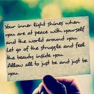 Your inner light #spirituality