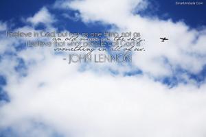 Believe In God ~ Goal Quote