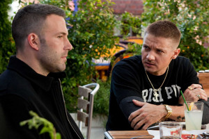 Jeremy Renner Jeremy Renner & Ben Affleck in The Town