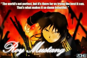 Roy Mustang's Famous Quote Picture
