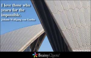 Johann Wolfgang von Goethe Quote