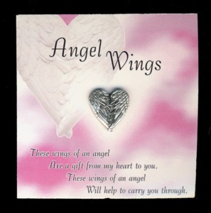 Name: Wings of An Angel Pin With Card