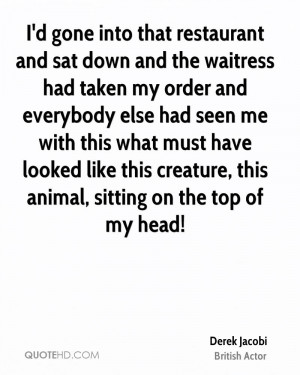 Funny Quotes About Restaurants Waitresses