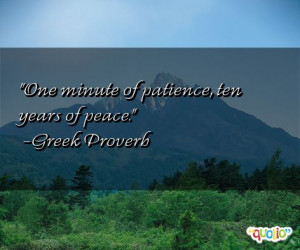 This quote is just one of 11 total Greek Proverb quotes in our ...