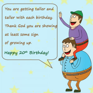 Happy 20th Birthday Wishes and Quotes