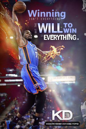 basketball quote | Inspiring words from Kevin Durant. #KD #KevinDurant ...