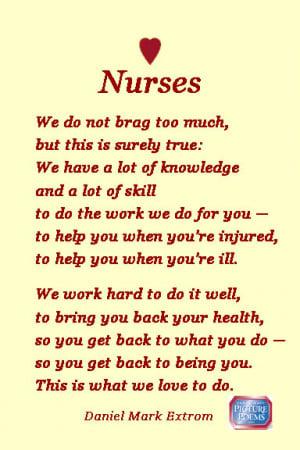 Nurses: National Nurses Week is May 6-12