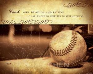 Coach Gift - Baseball Coach Gift - Coach Art - Coach Quote - Coach ...