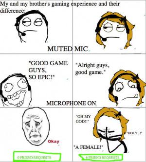 Gamer Girl Quotes #3 geeky gamer girl funny