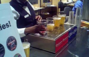 Bottoms Up Beer demo