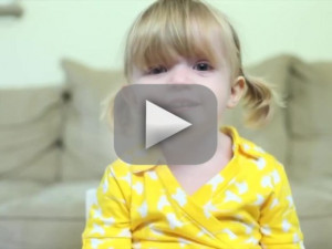 this adorable video of a two-year-old wishing her mom a happy birthday ...
