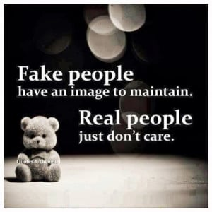 Images quotes about fake people
