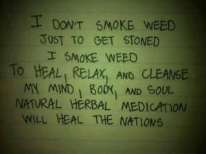 Weed poem
