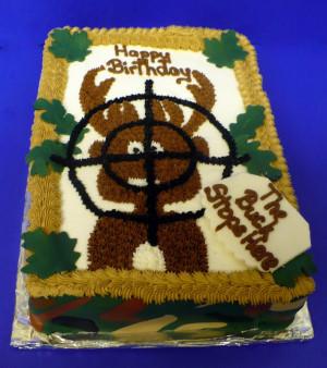 Camo Baby Shower Cake Ideas...