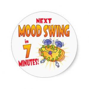 Mood Swings Stickers
